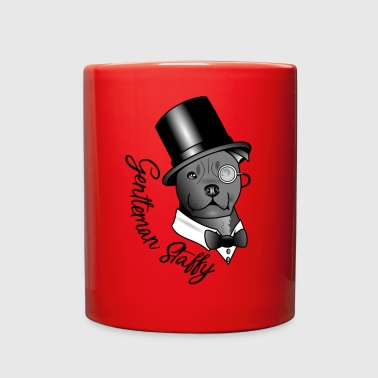 Gentleman Staffy - Full Color Mug