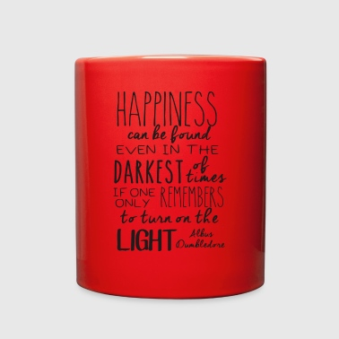 Happiness can be found (...) - Full Color Mug
