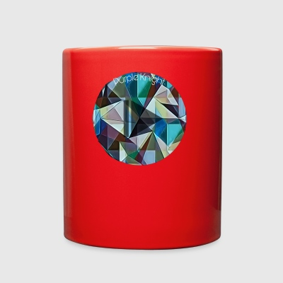 Geometric Play Button - Full Color Mug