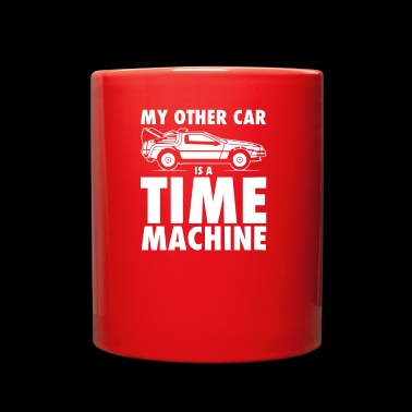 My Other Car Is A Time Machine - Full Color Mug