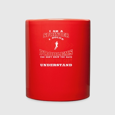 gift solve problems know SPRINTER - Full Color Mug