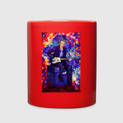 Time Traveller Guitarist Abstract Art TSHIRT - Full Color Mug