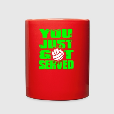 SERVED Volley Ball - Full Color Mug