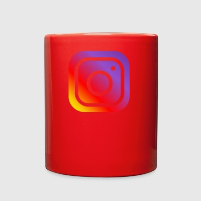instagram logo - Full Color Mug