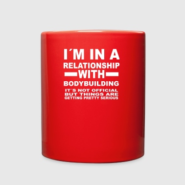 relationship with bodybuilding fitness shred gainz - Full Color Mug