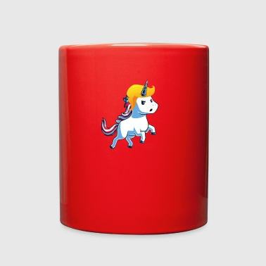 trump unicorn - Full Color Mug