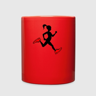 running girl - Full Color Mug
