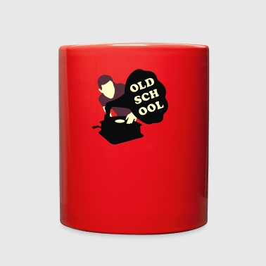 Old school DJ - Full Color Mug