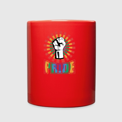 PRIDE BE A AFRO - Full Color Mug