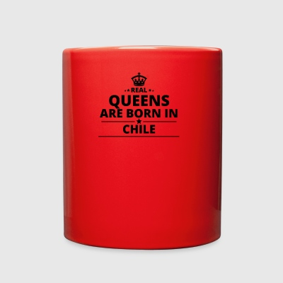 geschenk love queens are born CHILE - Full Color Mug