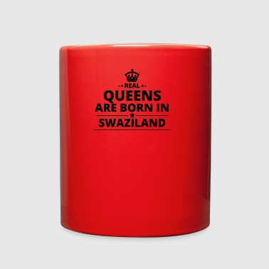 geschenk love queens are born SWAZILAND - Full Color Mug