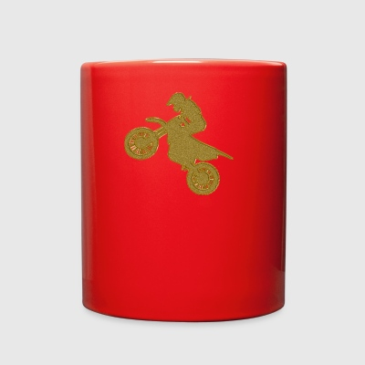 Golden Motocross - Full Color Mug