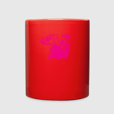 Pink Moose - Full Color Mug