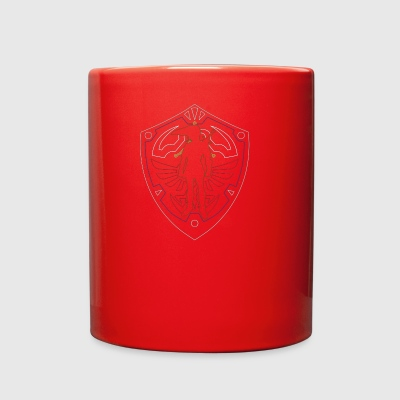 Link to Hyrule Coloured - Full Color Mug