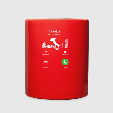 Italy Is Calling - Full Color Mug