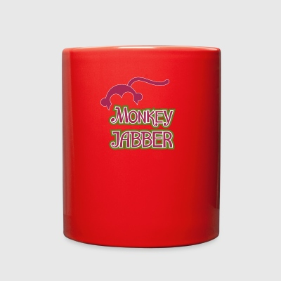 Cool Monkey Jabber logo - Full Color Mug
