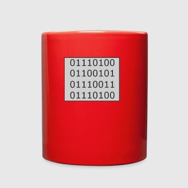 Binary Test - Full Color Mug