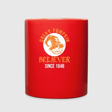 Halloween Great Pumpkin Believer Since 1948 - Full Color Mug