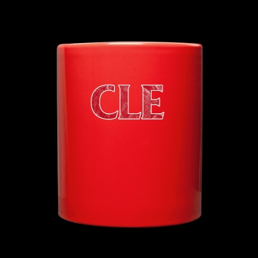 For beseball cleveland fans - gift - Full Color Mug