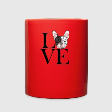 french bulldog love - Full Color Mug