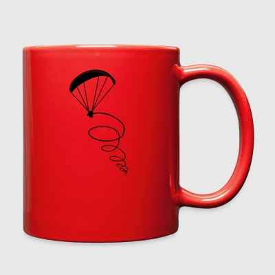 thermik paragliding - Full Color Mug