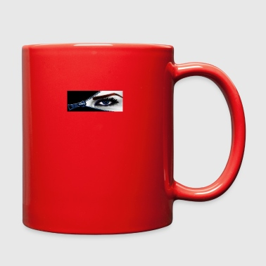 Blue eye zipper - Full Color Mug