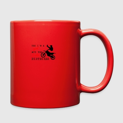 YES I RIDE DIRTBIKES - Full Color Mug