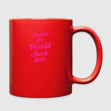 Make The World Suckless - Full Color Mug