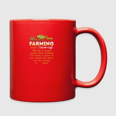 Farming Definition Shirt - Full Color Mug