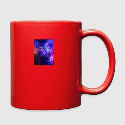 glowing leopard - Full Color Mug