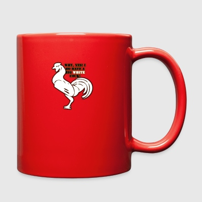 Big White Cock - Full Color Mug