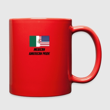Mexican American Pride - Full Color Mug