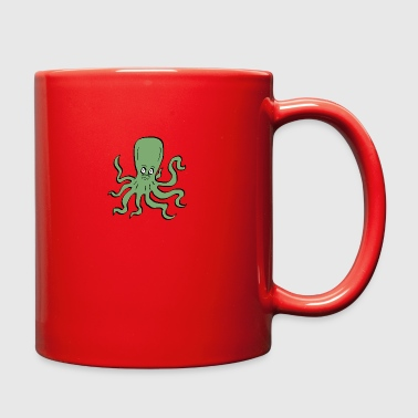 Octopus Green - Full Color Mug