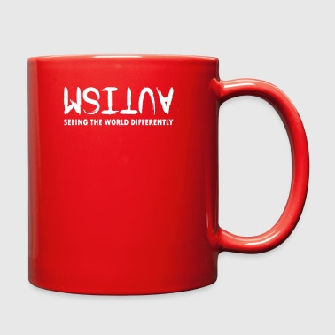 Autism Seeing The World Differently - Full Color Mug