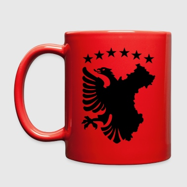 Albanian Autochthonous Flag - Full Color Mug