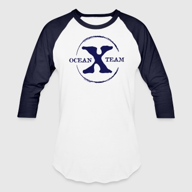 Ocean x Team Black - Baseball T-Shirt