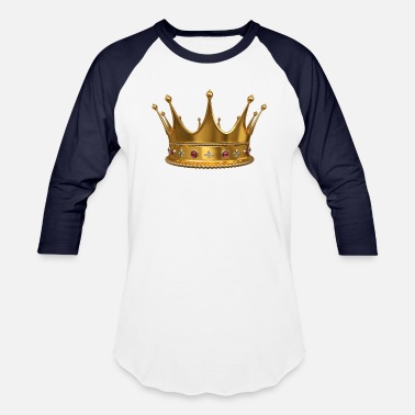 Crown Crown Of King by Artify - Baseball T-Shirt
