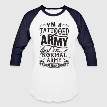 TATTOOED ARMY - Baseball T-Shirt