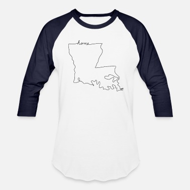 Louisiana Home LOUISIANA Home - Baseball T-Shirt