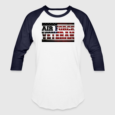 air-force-veteran-blk.png - Baseball T-Shirt