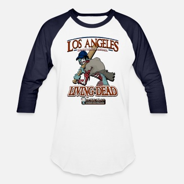 La Dodgers Los Angeles Living Dead - Baseball T-Shirt