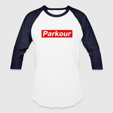 Parkour - Baseball T-Shirt