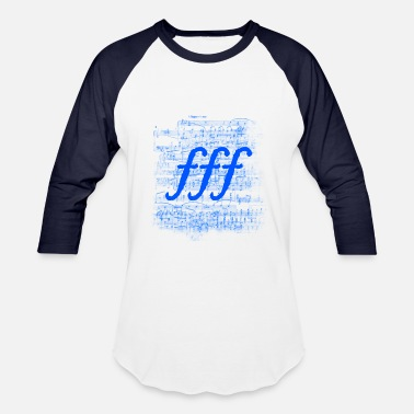 Allegro Vivace Triple Forte [4] Persephone Productions - Baseball T-Shirt