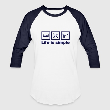 (lifeissimple_baseball) - Baseball T-Shirt