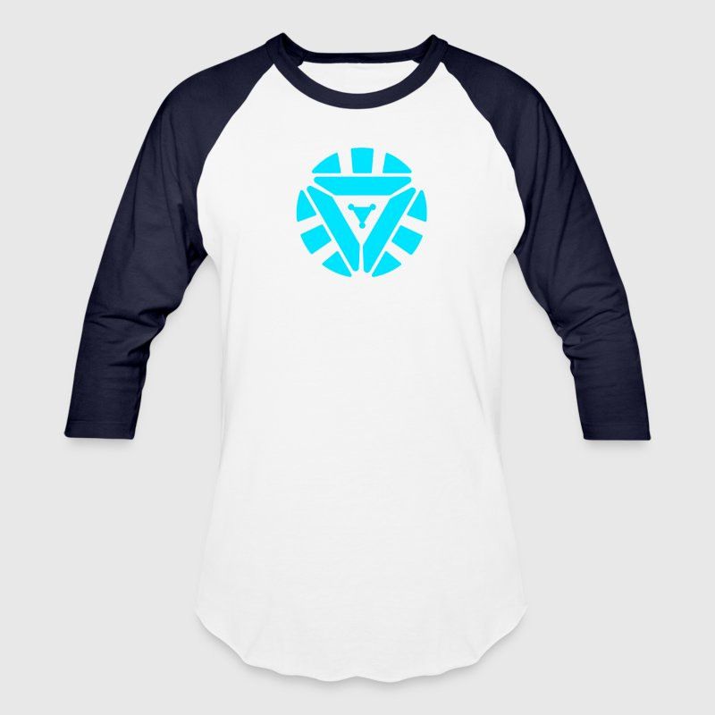 Arc Reactor Glow In The D - Baseball T-Shirt