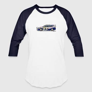 Ford Escort RS Cosworth Rally Monte Carlo - Baseball T-Shirt