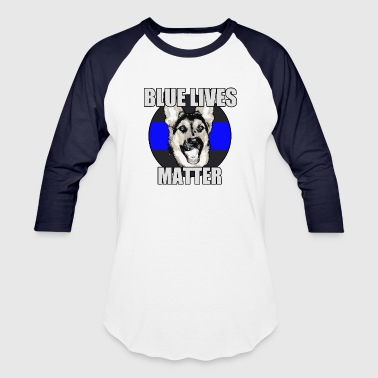 Blue lives matter - Baseball T-Shirt