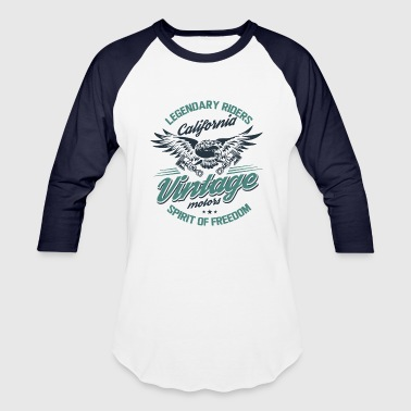 Vintage motors - Baseball T-Shirt