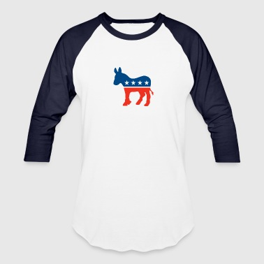 Democrat Logo - Baseball T-Shirt