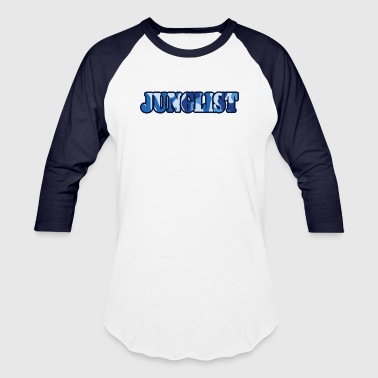 Junglist Soldier Blue - Baseball T-Shirt